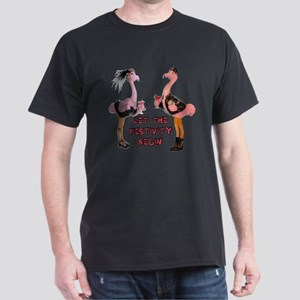 Partying Flamingo Couple T-Shirt