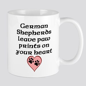 German Shepherds Leave Paw Prints On Your Heart Mu