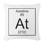 85. Astatine Woven Throw Pillow