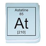 85. Astatine baby blanket
