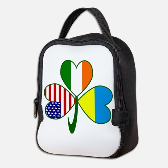 Shamrock of Ukraine Neoprene Lunch Bag