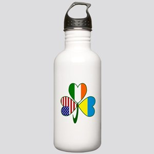 Shamrock of Ukraine Stainless Water Bottle 1.0L
