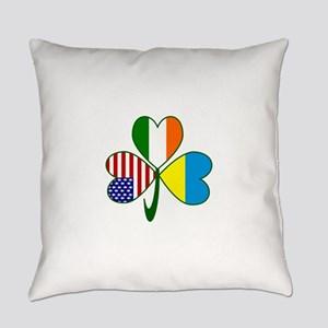 Shamrock of Ukraine Everyday Pillow