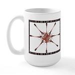 Pin Wheel Large Mug