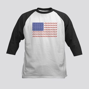 Patriotic Schnauzer Baseball Jersey