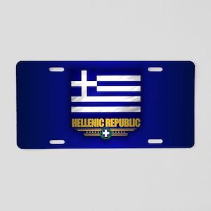 Greece (f10) Aluminum License Plate