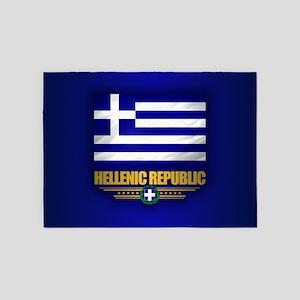 Greece (f10) 5'x7'Area Rug