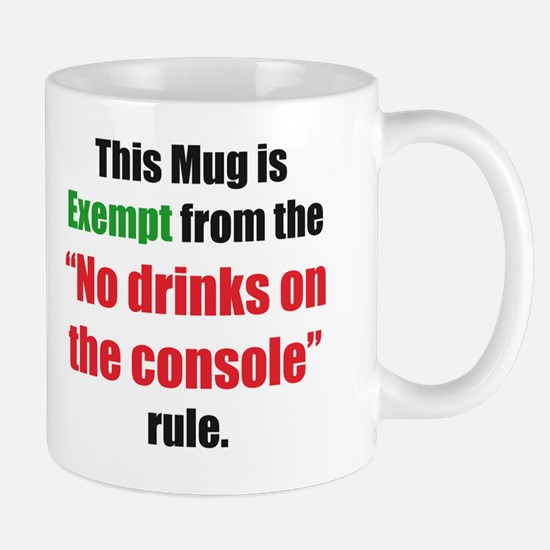 No drinks on console Mug
