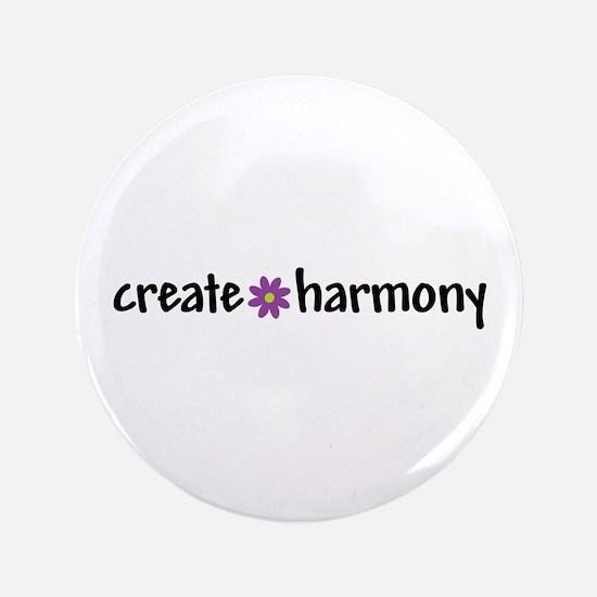 "Create Harmony - 3.5"" Button"