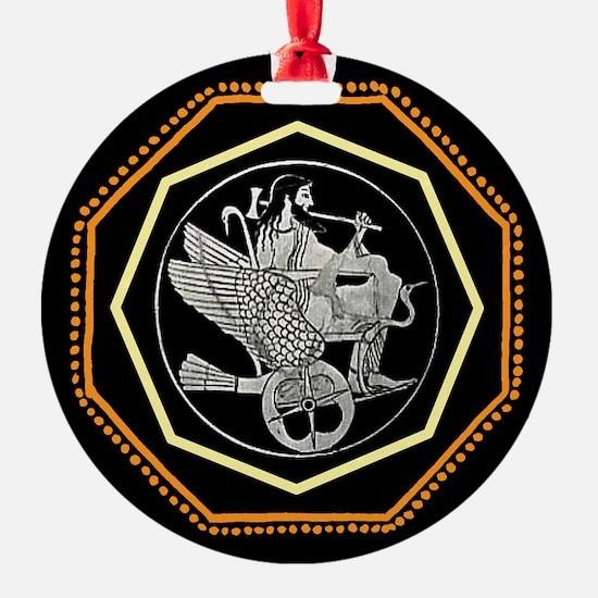 Hephaestus Ornament