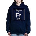 87. Francium Women's Hooded Sweatshirt