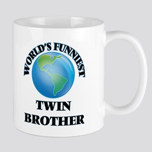 World's Funniest Twin Brother Mugs