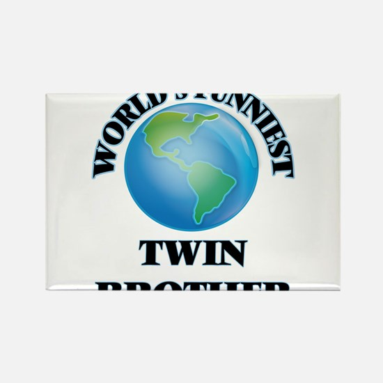 World's Funniest Twin Brother Magnets
