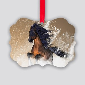 Awesome, beautiful horse Ornament