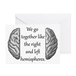 Go together Greeting Cards