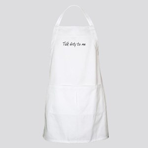 Talk dirty to me (2) BBQ Apron