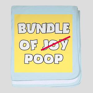 Bundle of Joy Poop baby blanket