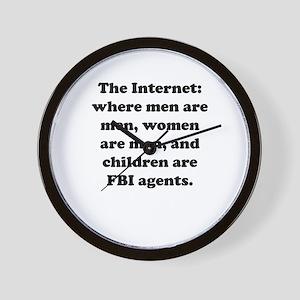 The Internet Wall Clock