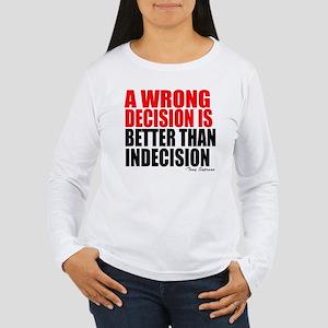 Sopranos Decisions Women's Long Sleeve T-Shirt
