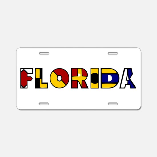 Cute Florida native Aluminum License Plate