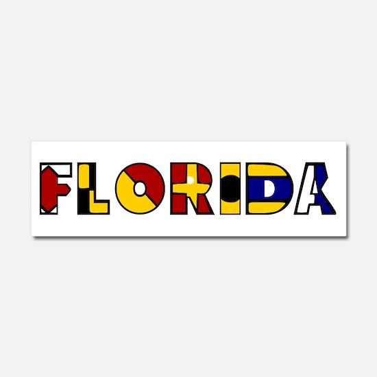 Unique Florida native Car Magnet 10 x 3