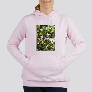 Peach Blossoms and Oranges Women's Hooded Sweatshi
