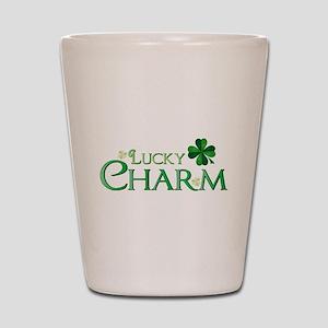 Lucky Charm Shot Glass