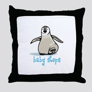 Baby Steps Throw Pillow