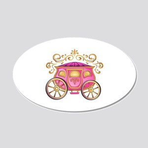 CINDERELLA CARRIAGE Wall Decal