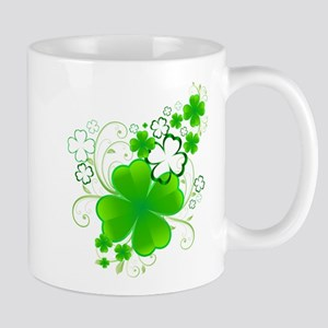 Clovers and Swirls Mugs