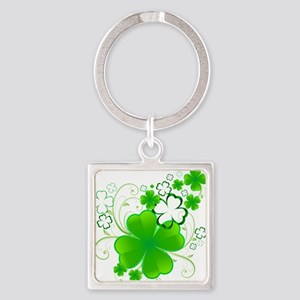 Clovers and Swirls Keychains