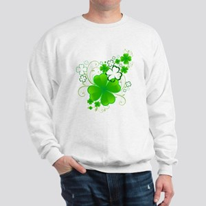 Clovers and Swirls Sweatshirt