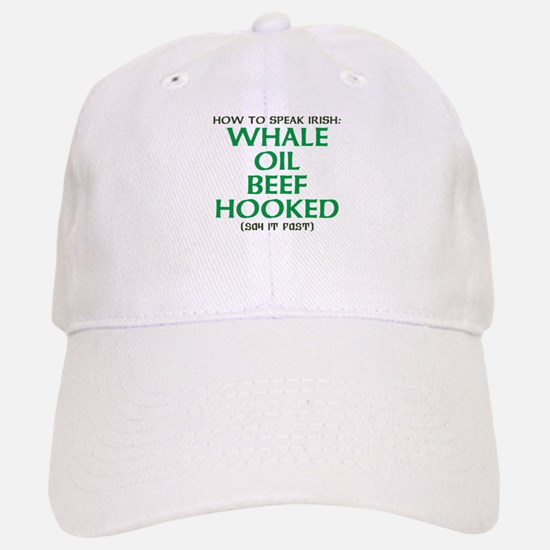Whale Oil Beef Hooked St. Patricks Day Design Base