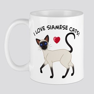Love Siamese Seal Mug