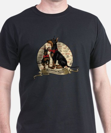 The Gentleman's Terrier by Molly Yang T-Shirt