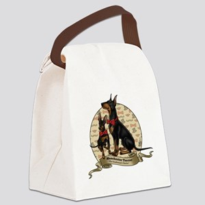 The Gentleman's Terrier by Molly  Canvas Lunch Bag