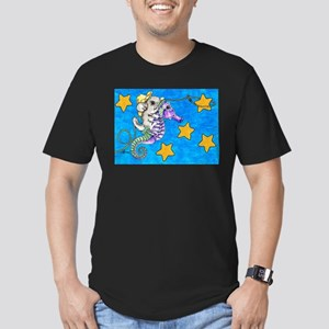 Chinchilla Riding a Seahorse Lassoing Stars T-Shir