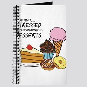 Stressed is dessert spelled backwards Journal