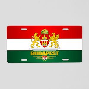 Budapest Aluminum License Plate
