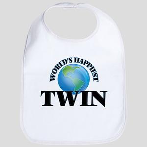 World's Happiest Twin Bib