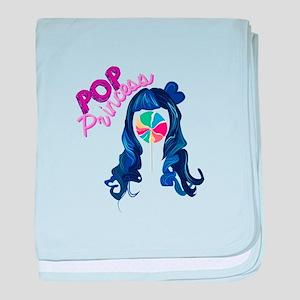 Pop Princess baby blanket