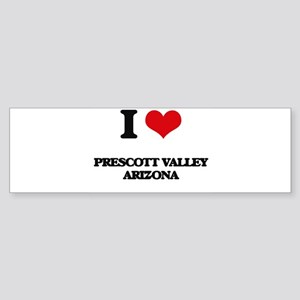 I love Prescott Valley Arizona Bumper Sticker