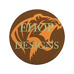 """Ehop Designs 3.5"""" Button"""