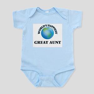 World's Happiest Great Aunt Body Suit