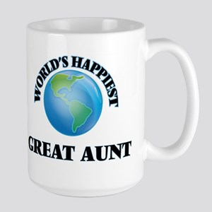 World's Happiest Great Aunt Mugs