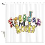 king fr mmxv trans Shower Curtain