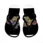 king fr mmxv black Flip Flops