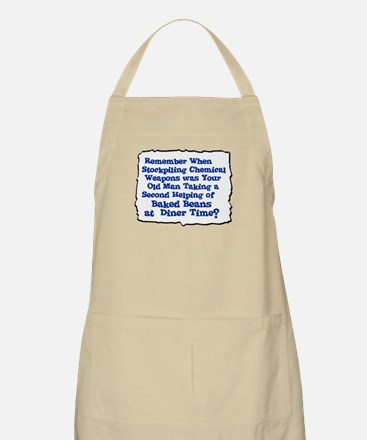 stockpile chemical weapons BBQ Apron