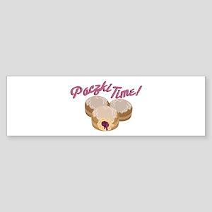 Paczki Time! Bumper Sticker