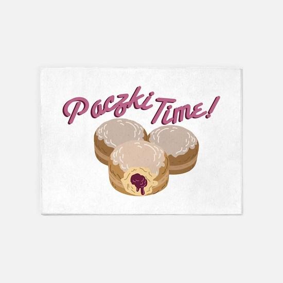Paczki Time! 5'x7'Area Rug